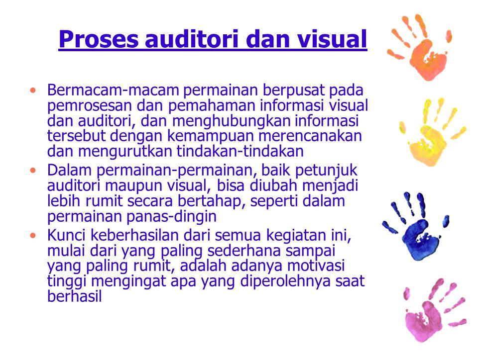 Proses auditori dan visual