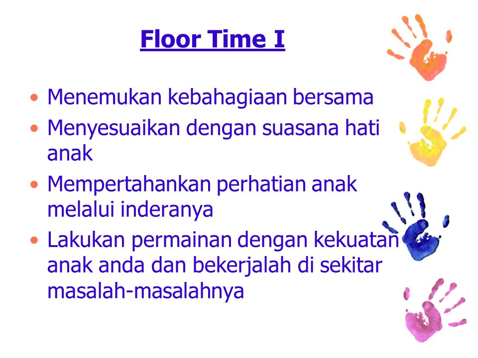 Floor Time I Menemukan kebahagiaan bersama