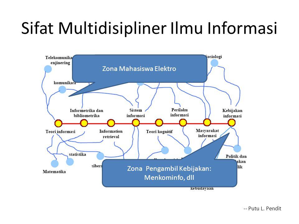 Sifat Multidisipliner Ilmu Informasi