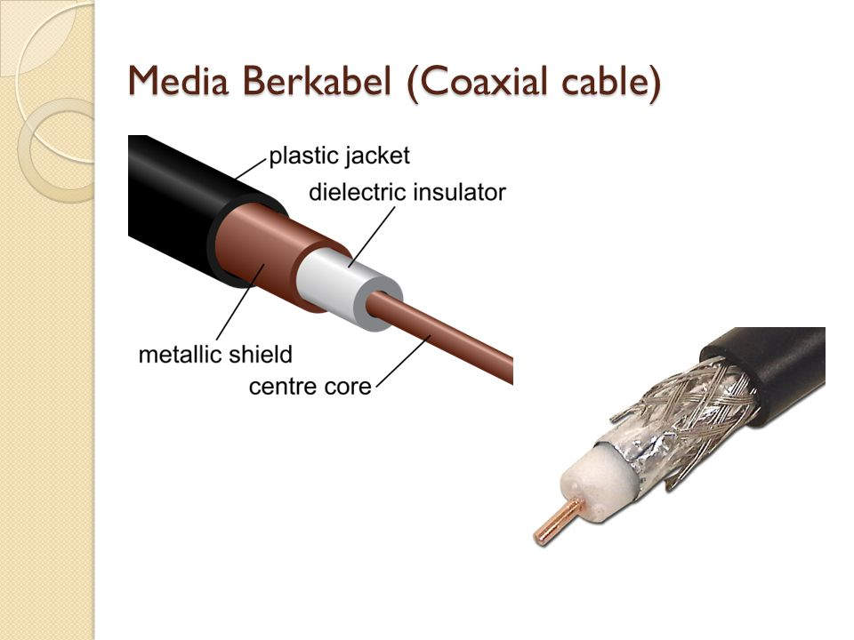 Media Berkabel (Coaxial cable)