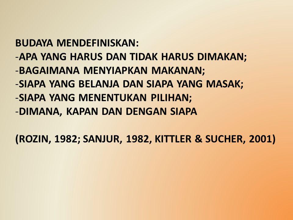 BUDAYA MENDEFINISKAN: