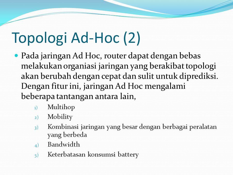 Topologi Ad-Hoc (2)