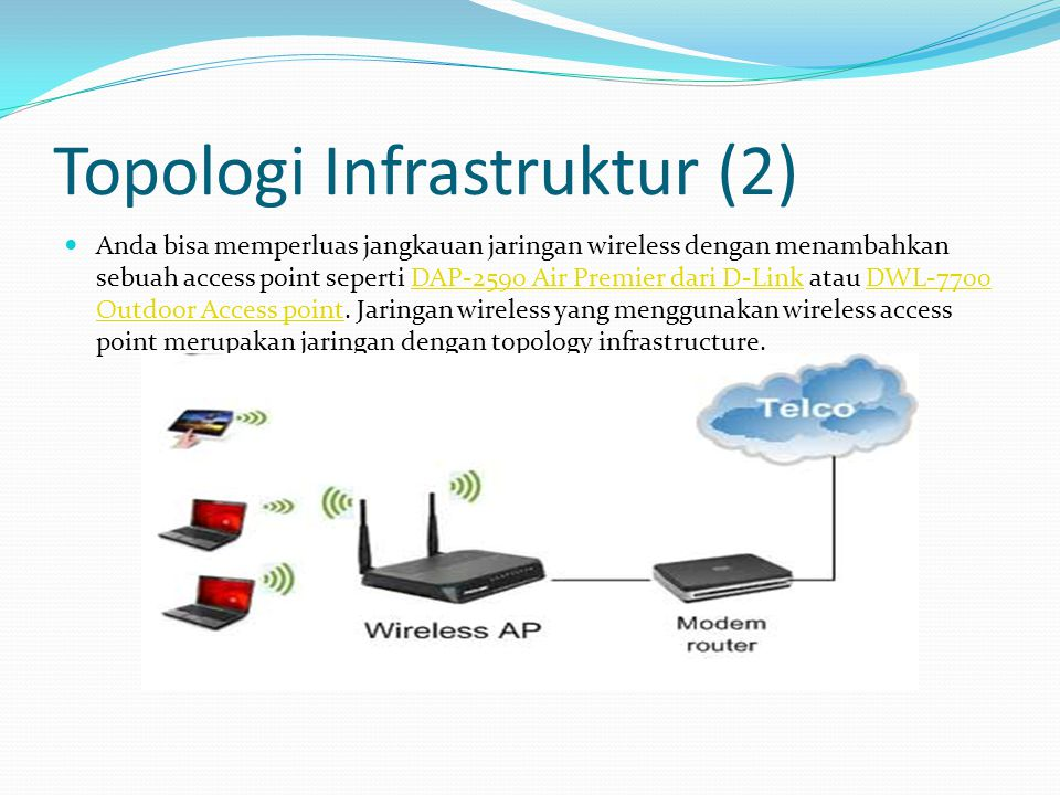 Topologi Infrastruktur (2)