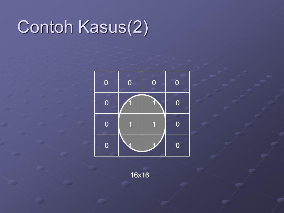 Contoh Kasus(2) 1 1 1 1 1 1 16x16