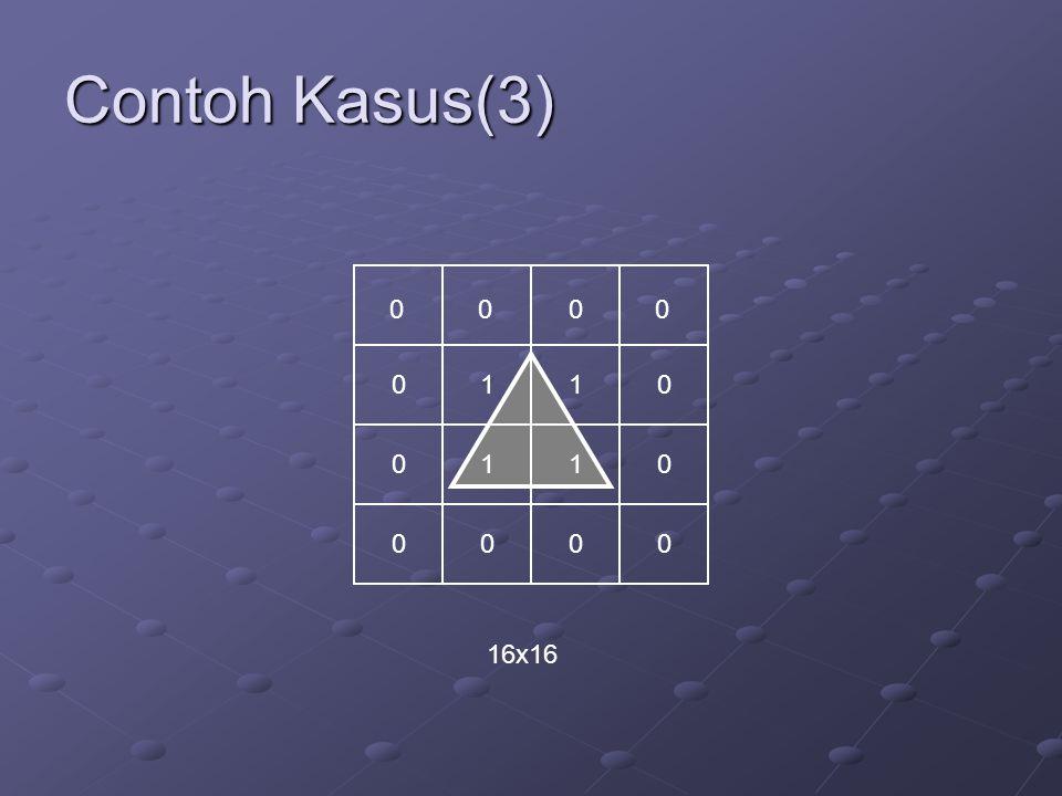 Contoh Kasus(3) 1 1 1 1 16x16