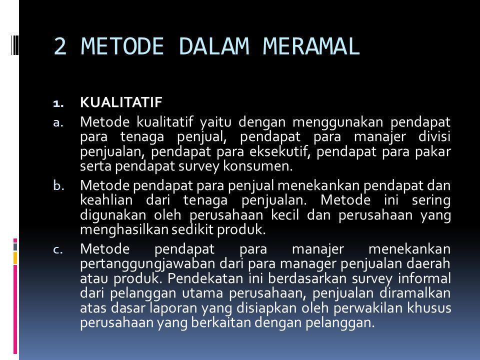 2 METODE DALAM MERAMAL KUALITATIF