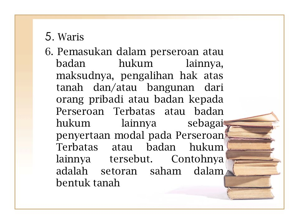 5. Waris