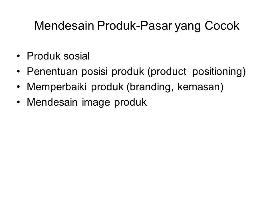 Mendesain Produk-Pasar yang Cocok