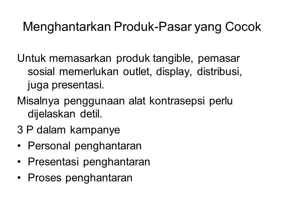 Menghantarkan Produk-Pasar yang Cocok