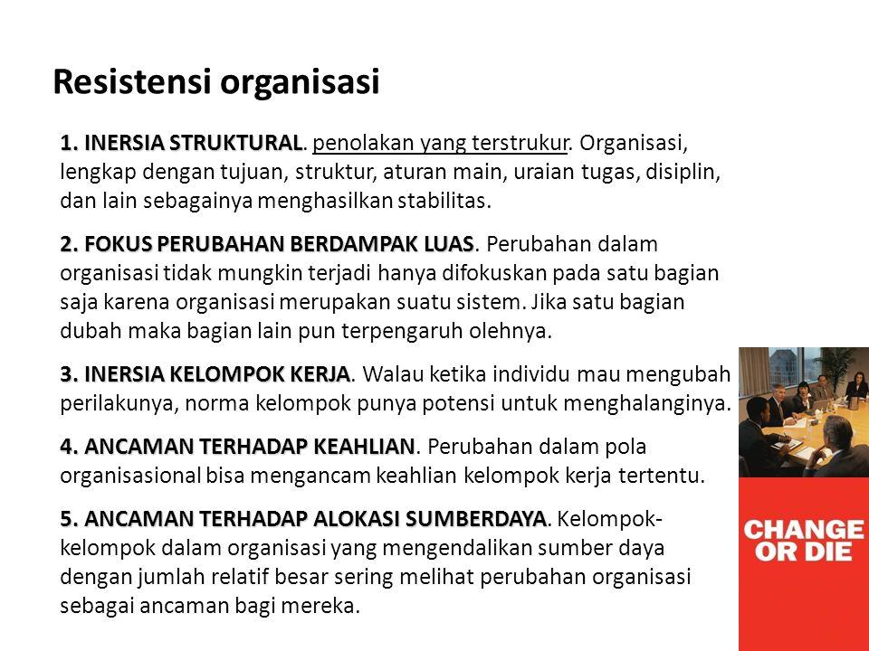 Resistensi organisasi