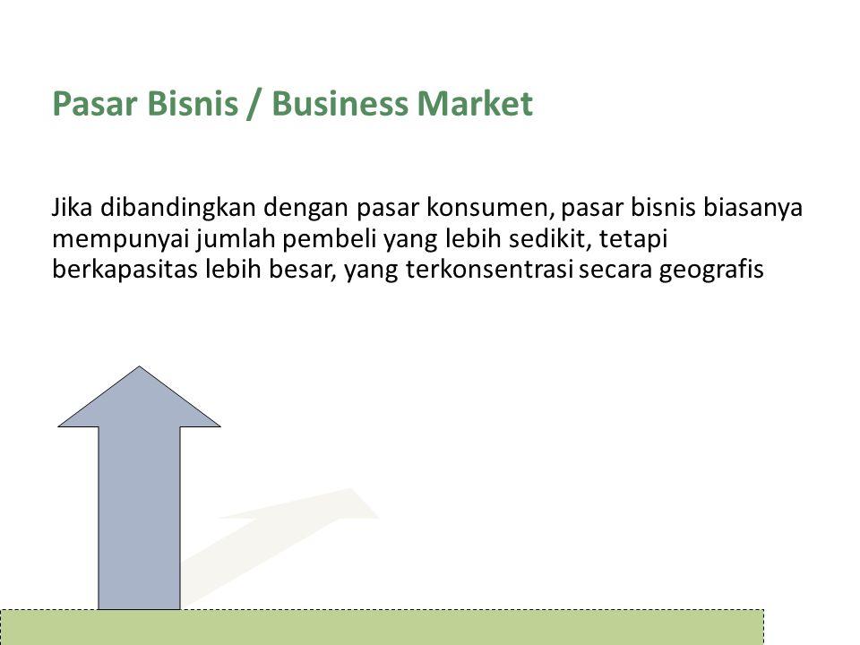 Pasar Bisnis / Business Market