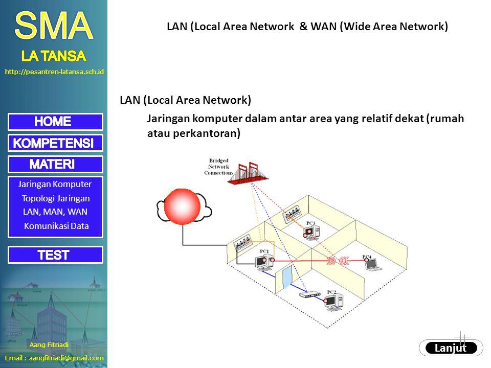 SMA LA TANSA LAN (Local Area Network & WAN (Wide Area Network)