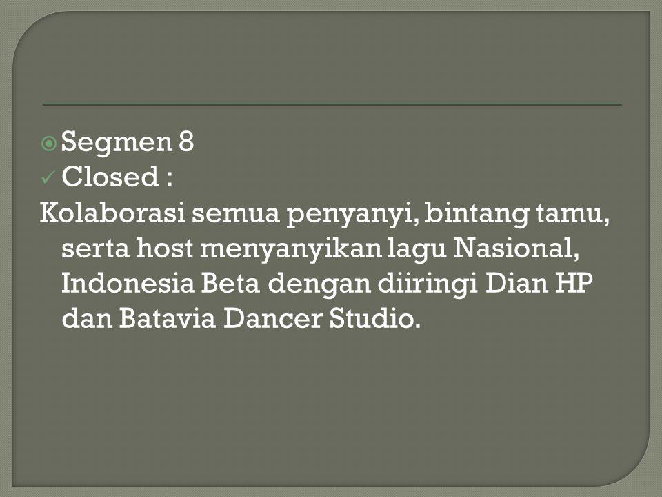 Segmen 8 Closed :