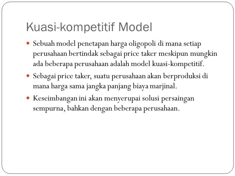 Kuasi-kompetitif Model