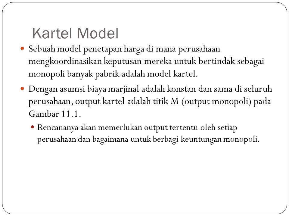 Kartel Model