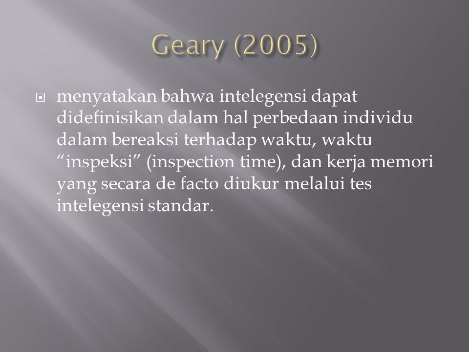 Geary (2005)
