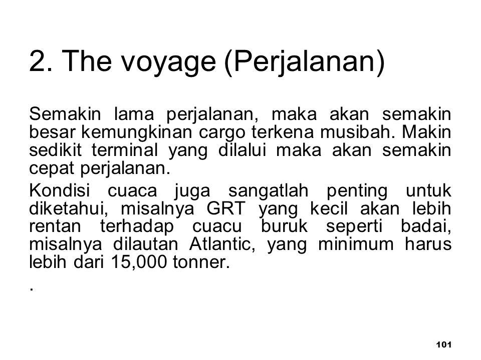 2. The voyage (Perjalanan)