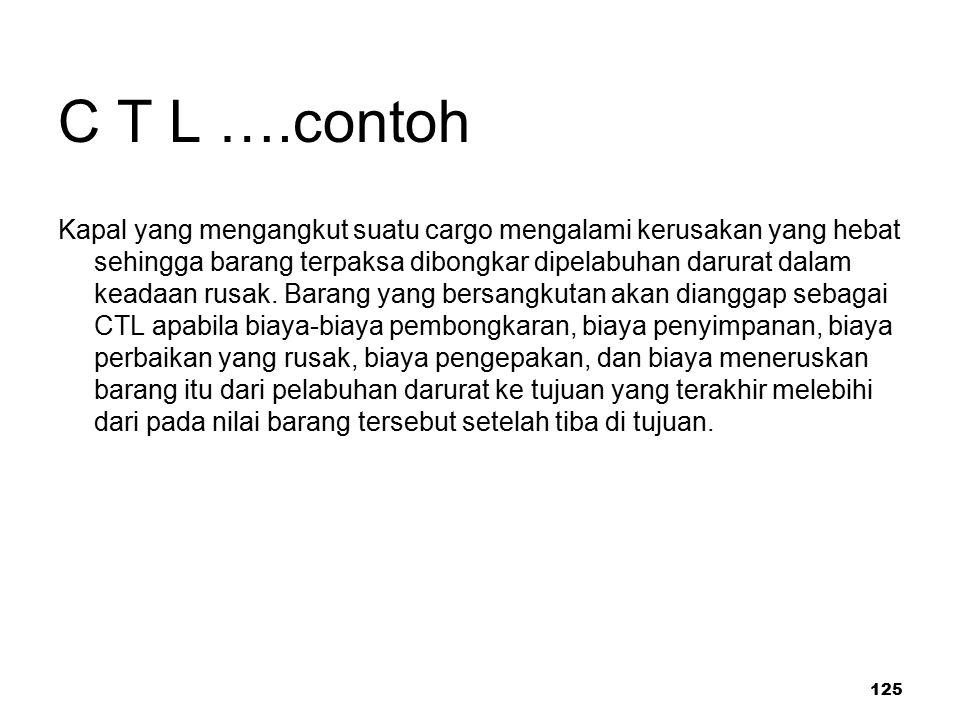 C T L ….contoh