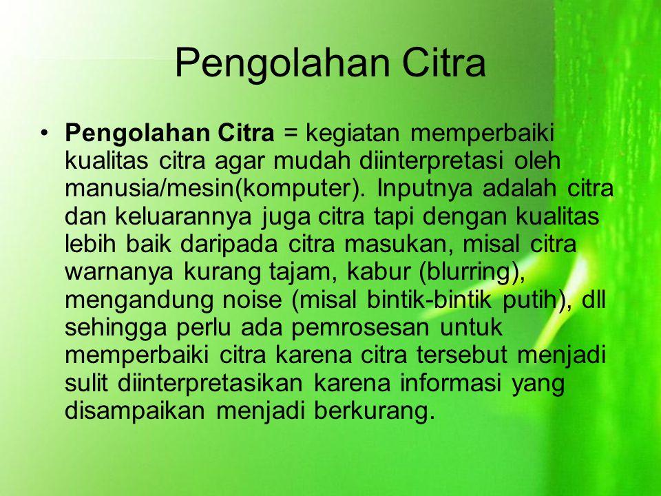 Pengolahan Citra