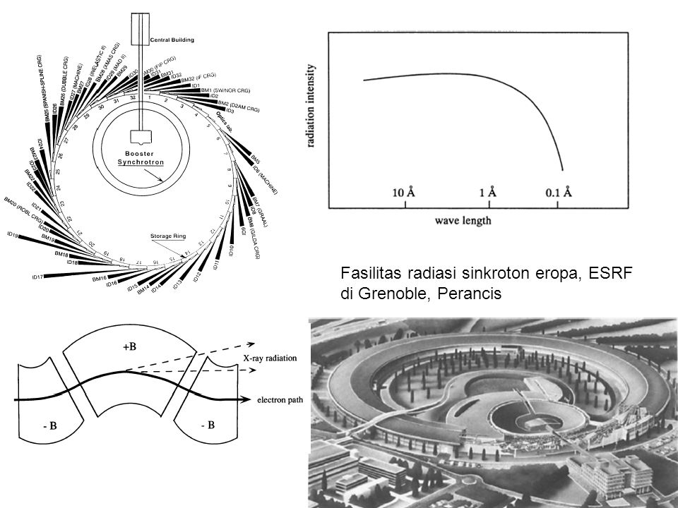 Fasilitas radiasi sinkroton eropa, ESRF di Grenoble, Perancis
