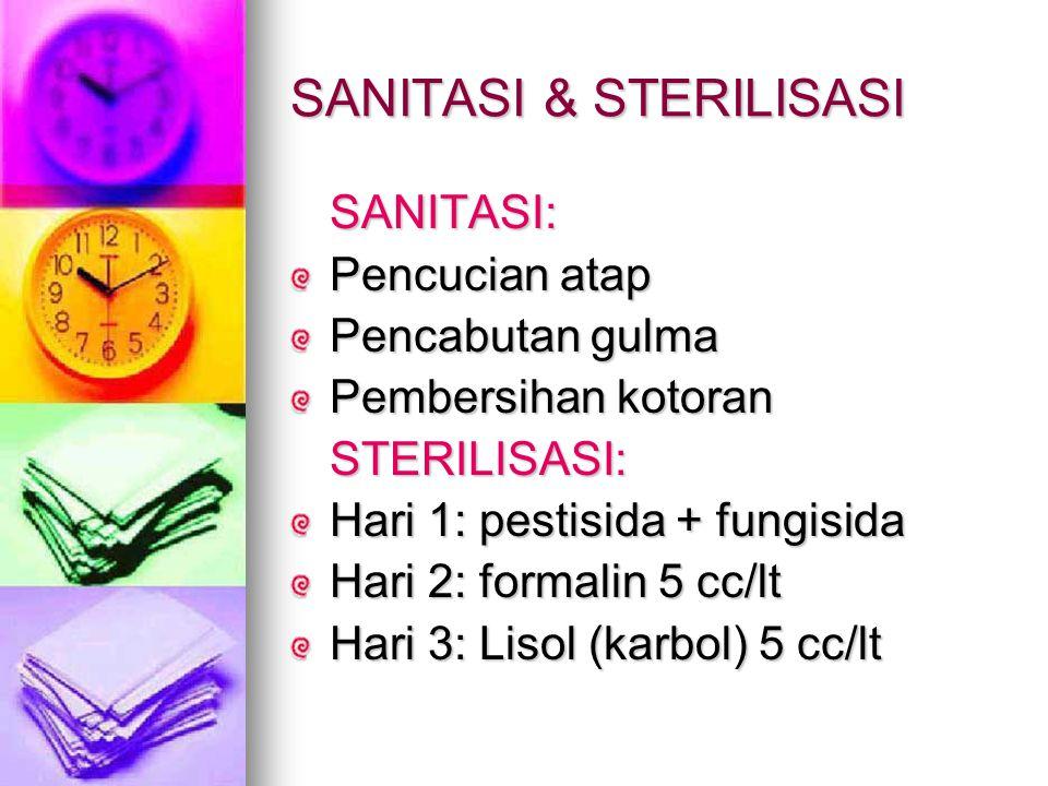 SANITASI & STERILISASI