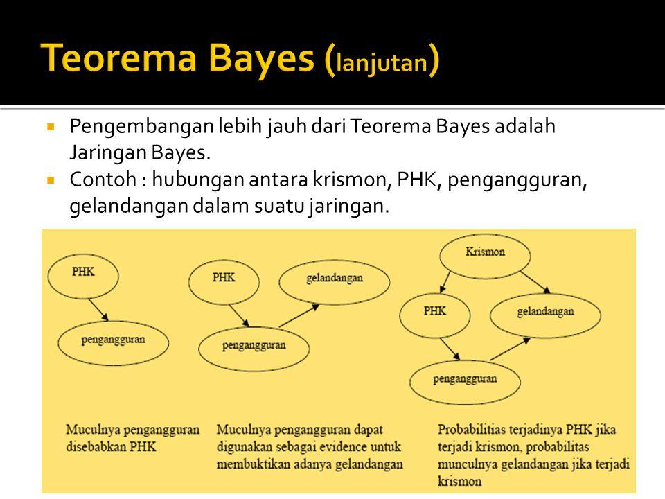 Teorema Bayes (lanjutan)