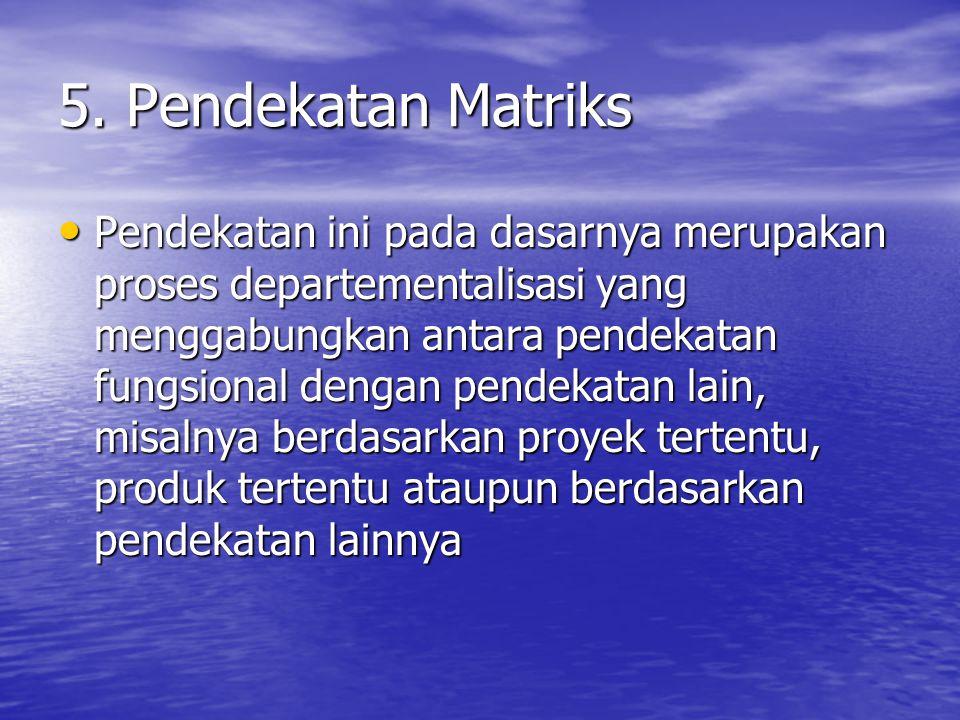 5. Pendekatan Matriks
