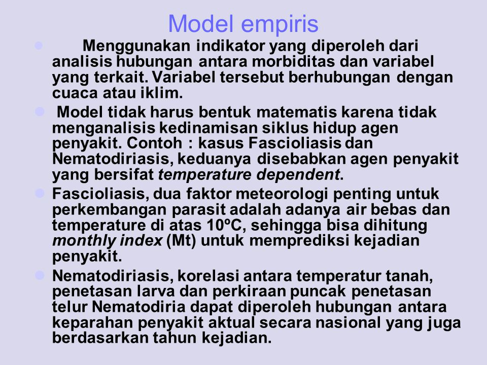 Model empiris