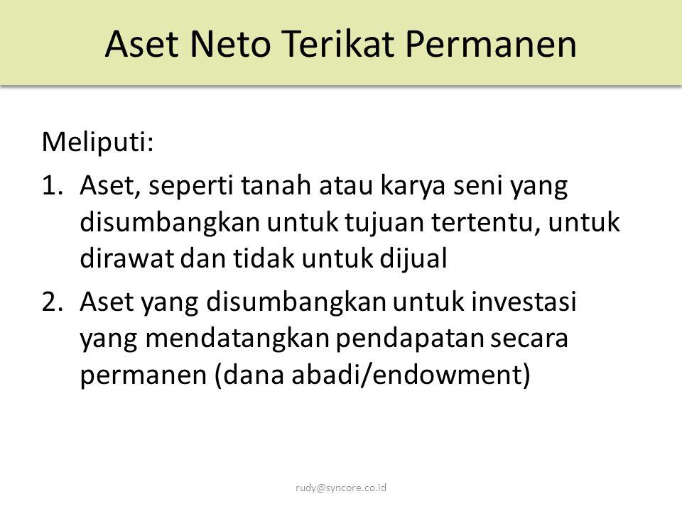 Aset Neto Terikat Permanen
