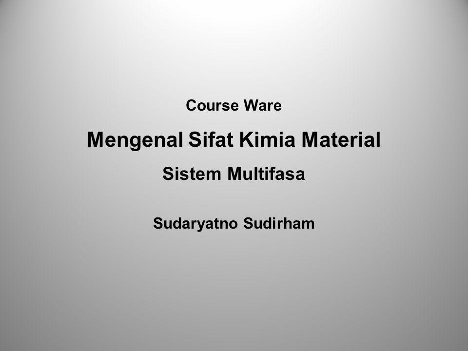 Mengenal Sifat Kimia Material
