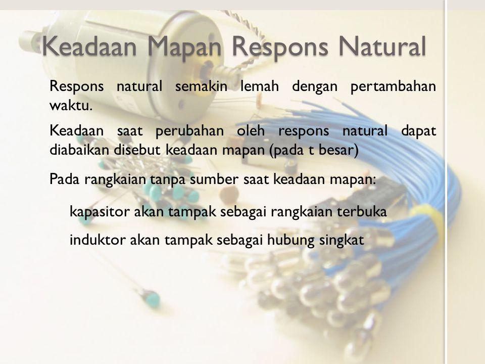 Keadaan Mapan Respons Natural