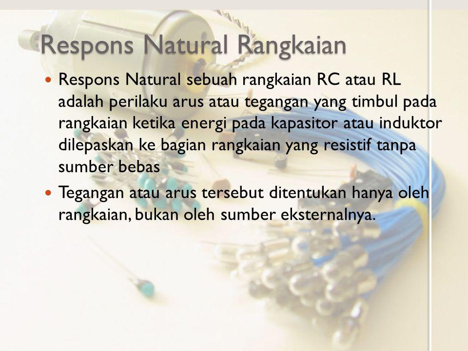 Respons Natural Rangkaian
