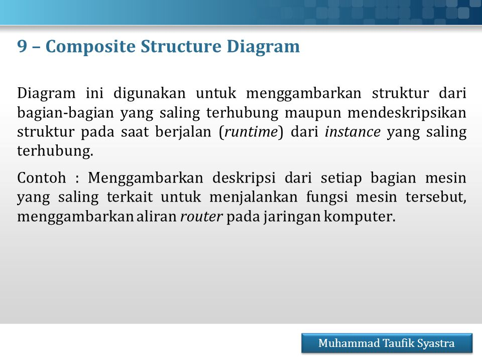 9 – Composite Structure Diagram
