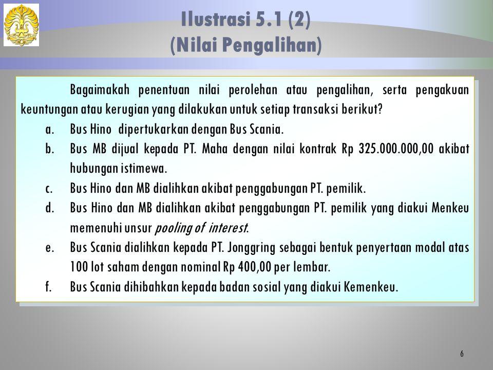 Ilustrasi 5.1 (2) (Nilai Pengalihan)