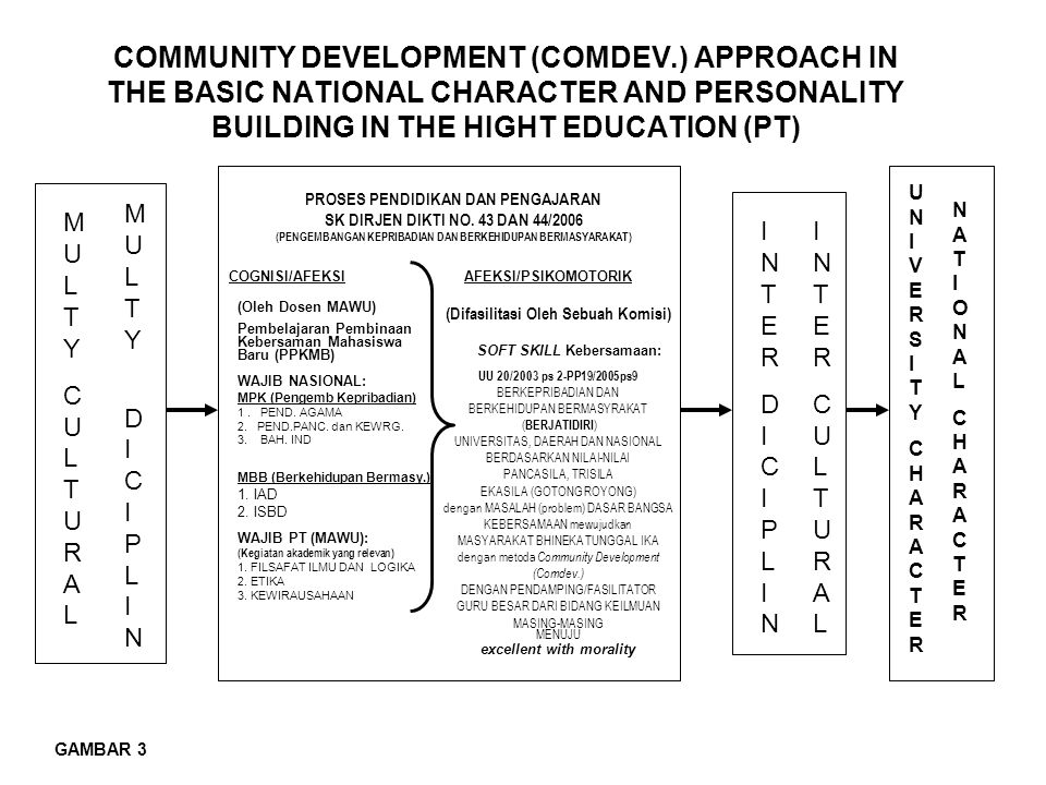 COMMUNITY DEVELOPMENT (COMDEV