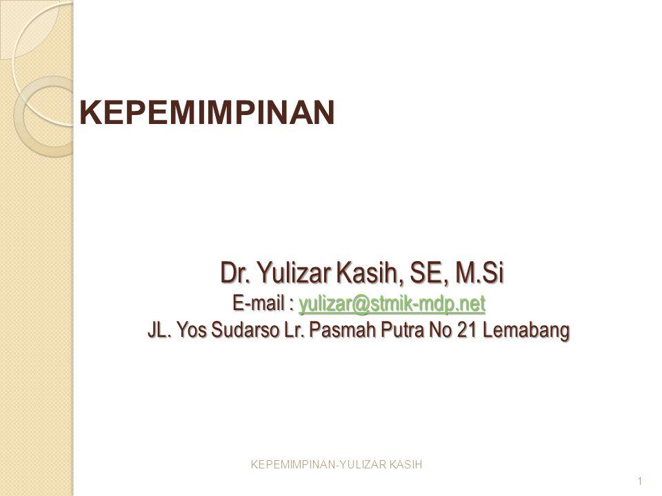 KEPEMIMPINAN-YULIZAR KASIH
