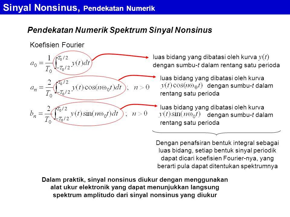 Sinyal Nonsinus, Pendekatan Numerik