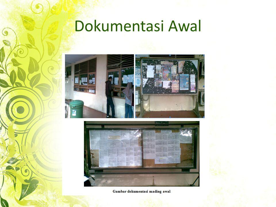 Dokumentasi Awal