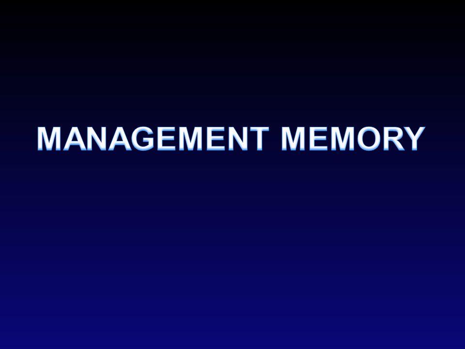 MANAGEMENT MEMORY