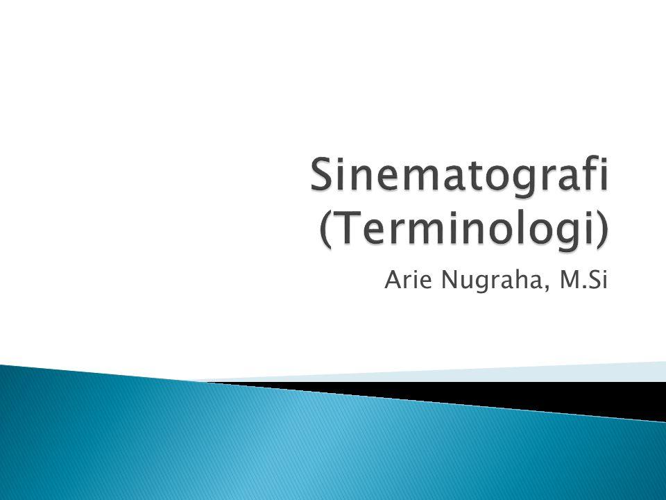 Sinematografi (Terminologi)