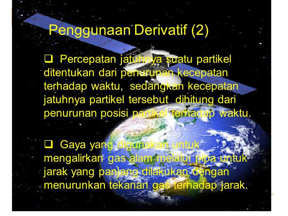 Penggunaan Derivatif (2)