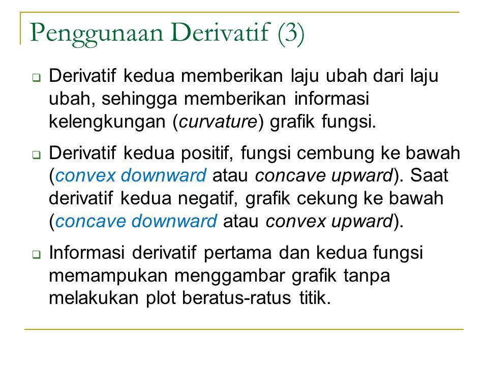 Penggunaan Derivatif (3)