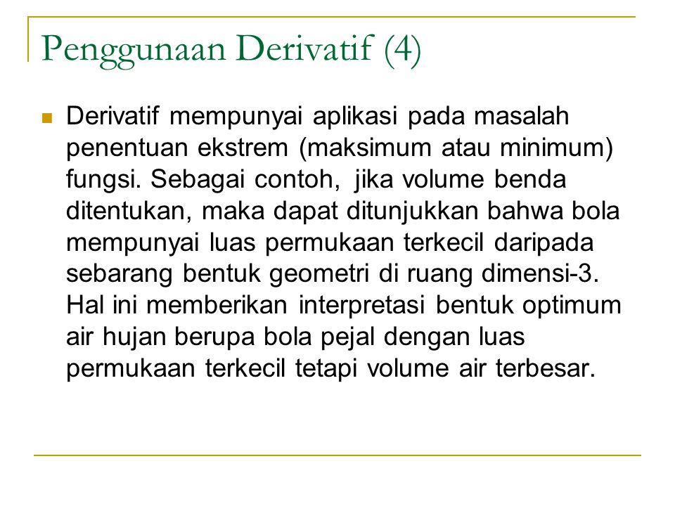 Penggunaan Derivatif (4)