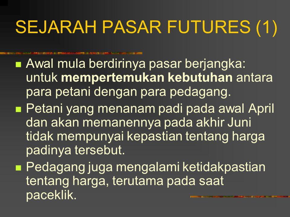 SEJARAH PASAR FUTURES (1)