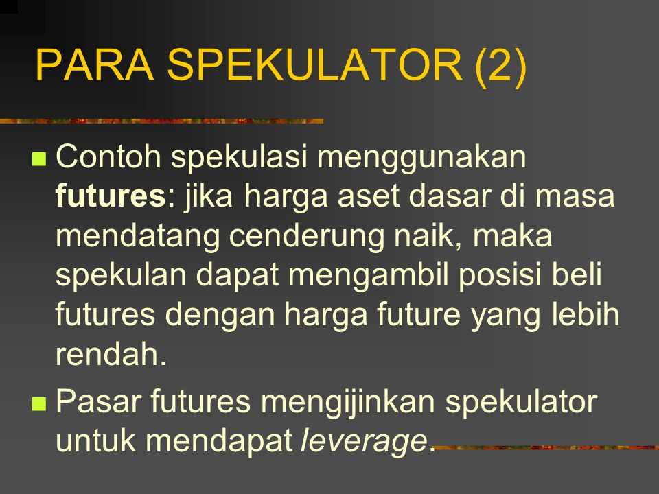 PARA SPEKULATOR (2)