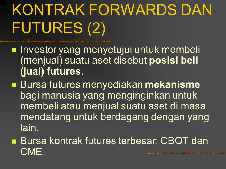 KONTRAK FORWARDS DAN FUTURES (2)