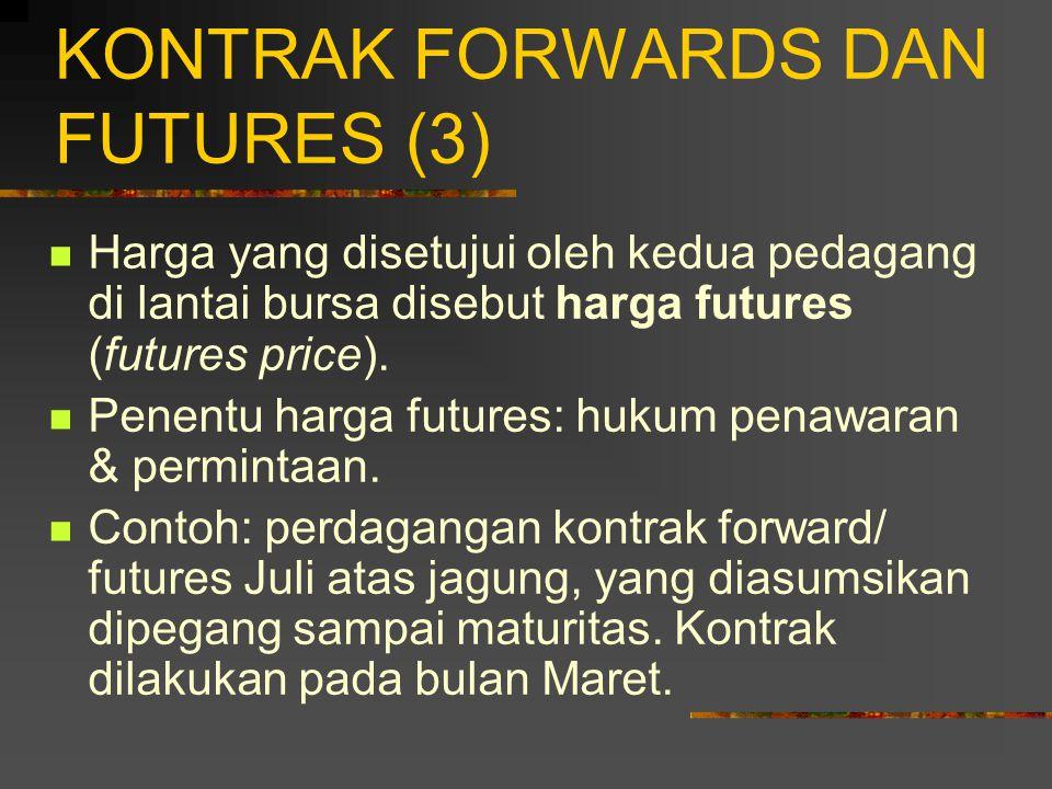KONTRAK FORWARDS DAN FUTURES (3)
