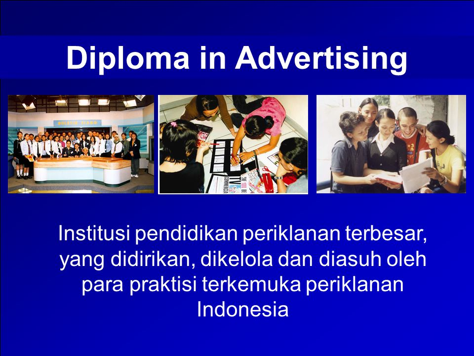 Diploma in Advertising