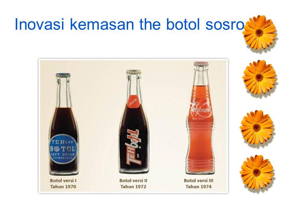 Inovasi kemasan the botol sosro