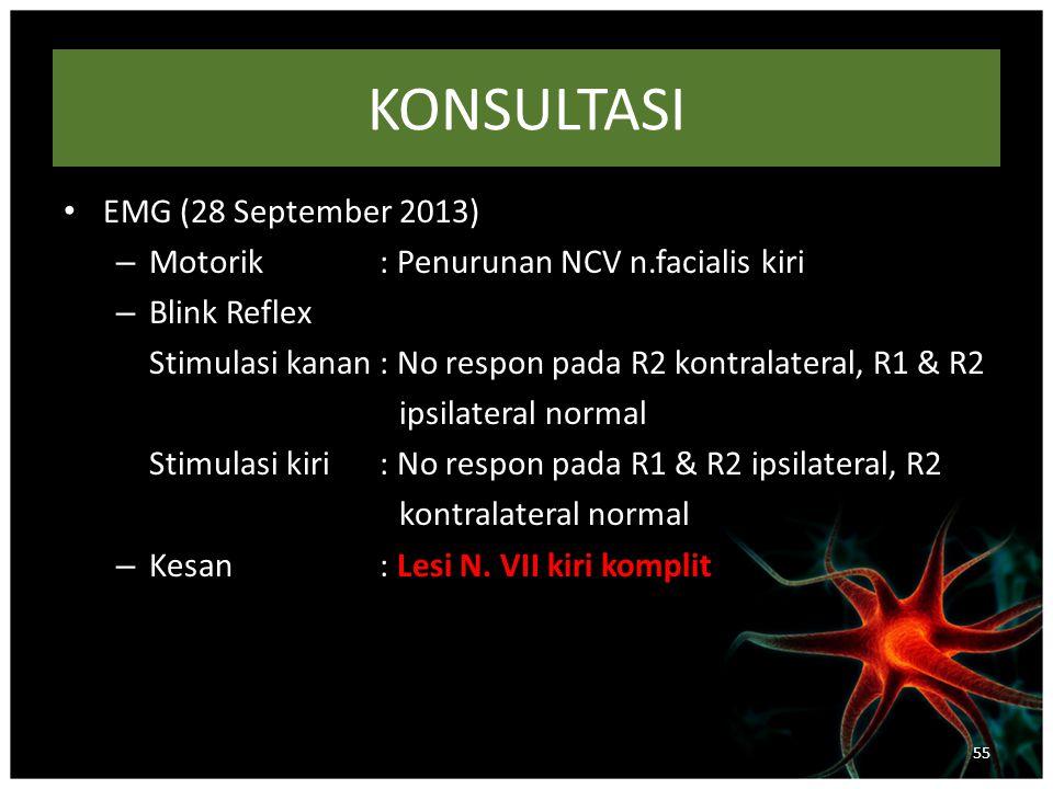 KONSULTASI EMG (28 September 2013)